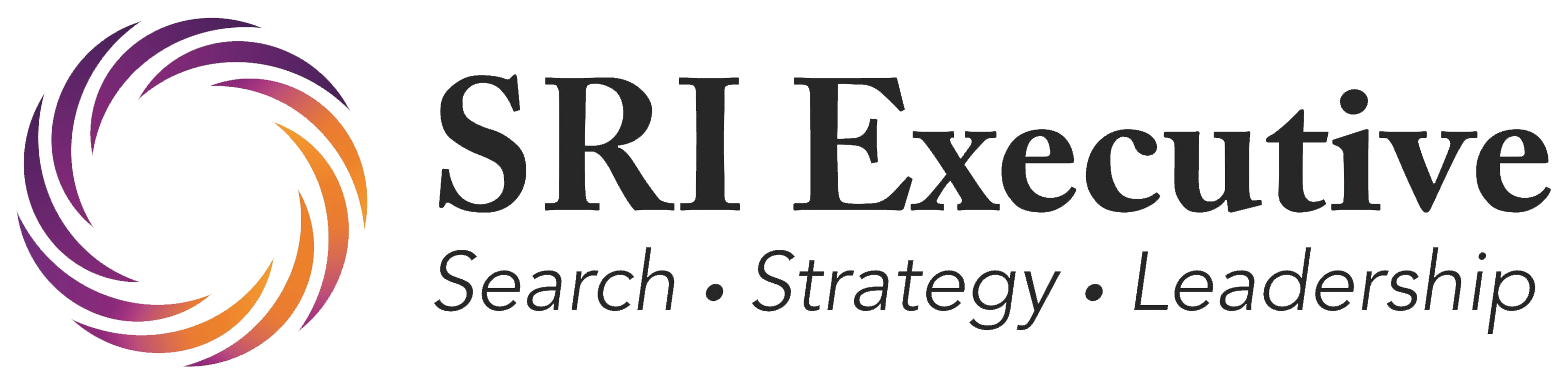 Focus Areas | SRI Executive | Search and Strategy